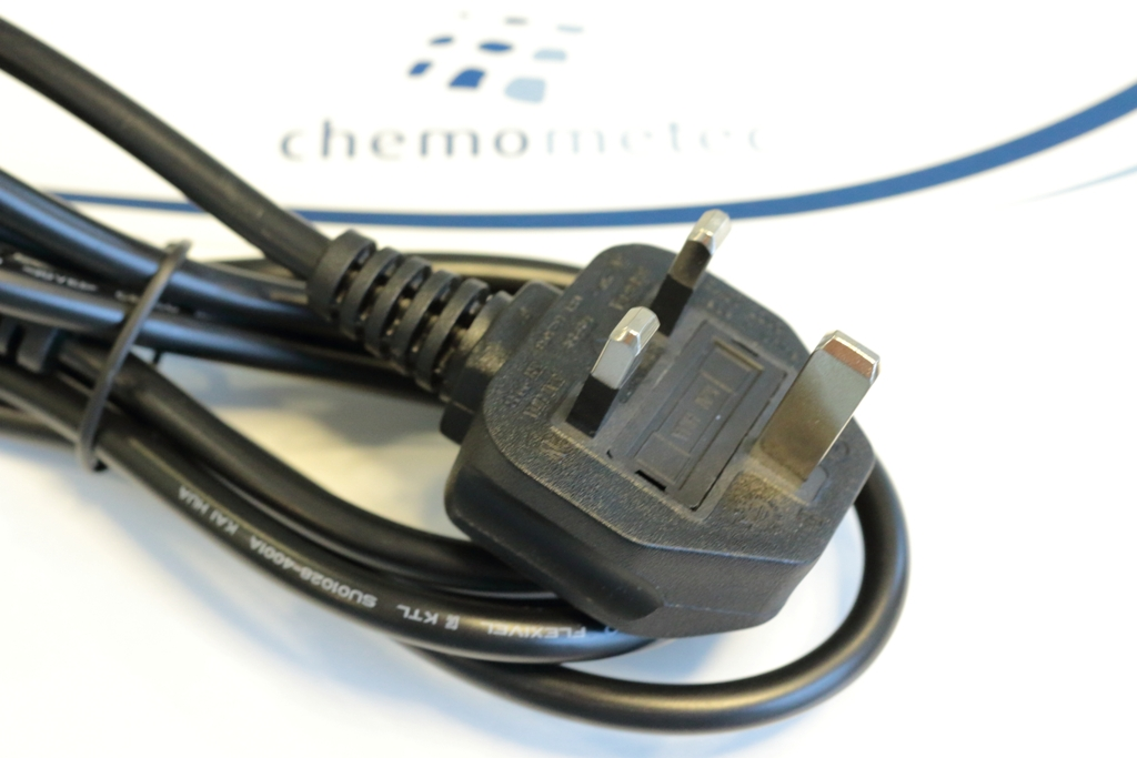 Power Cable Type G - ChemoMetec